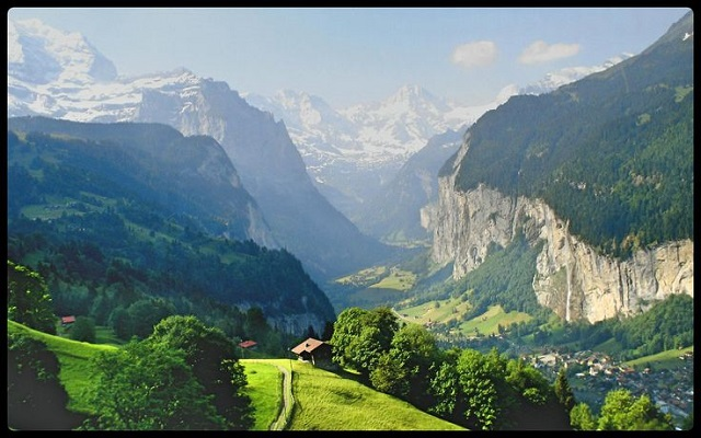 Experience The Beauty Of The Swiss Alps